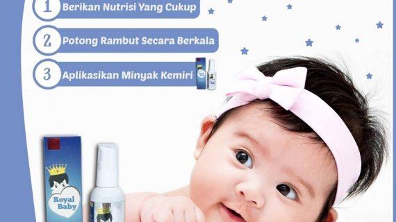Cara Menumbuhkan Rambut Bayi Secara Alami Paling Cepat