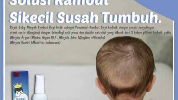 Royal Baby Serum Penumbuh Rambut Anak-anak