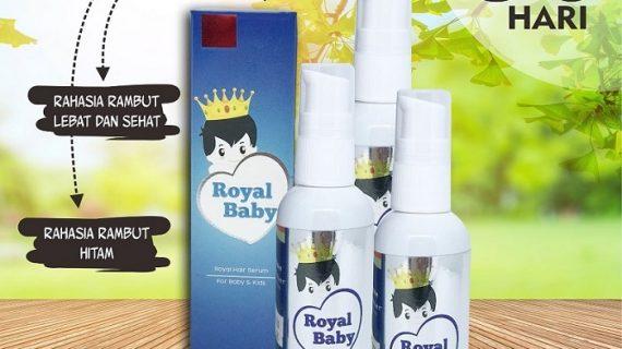 Royal Baby Hair Serum Penumbuh Rambut Untuk Bayi
